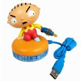 USB Stewie figure responds to keystrokes with movement