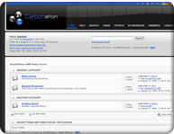 Simple Machine Forums (SMF) theme screenshot