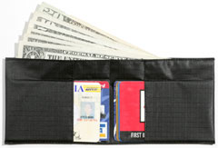 Fat wallet - change to a thin and slim All-ett wallet (European, Spinnaker)